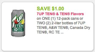 ten soda coupon