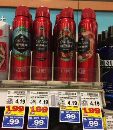 Old Spice Body Spray Kroger Mega