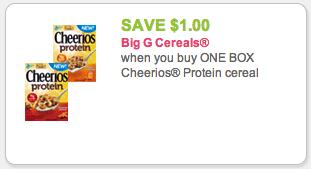 Cheerios Protein coupon
