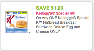 Special K FlatBread coupon