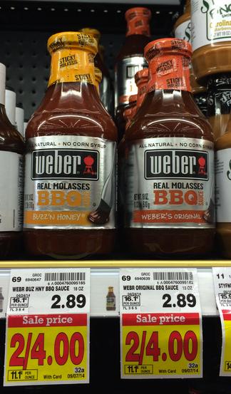 Weber BBQ Sauce Kroger