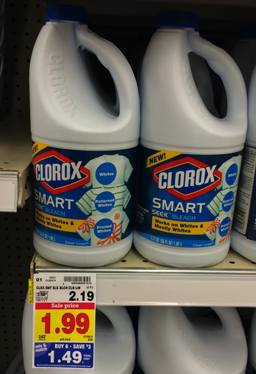 clorox bleach kroger