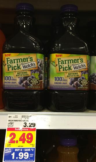 welch's juice kroger