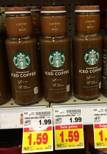 Starbucks Iced Coffee kroger