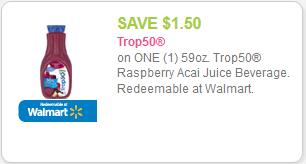 Acai Berry Trop50 Coupon