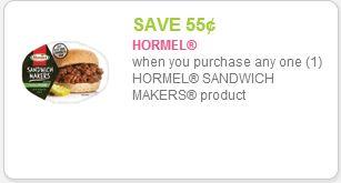 hormel sandwich