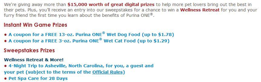 prizes joyful pets