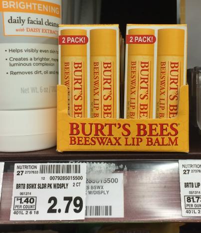 Burt's Bees Kroger