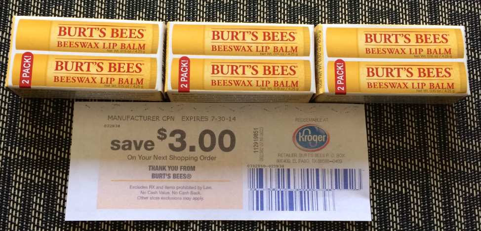 Burts bees coupon code