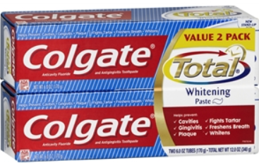Colgate twin pack