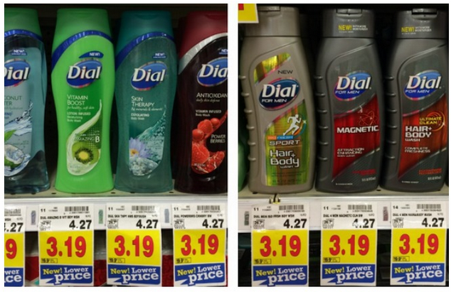 new Dial Body Wash coupon