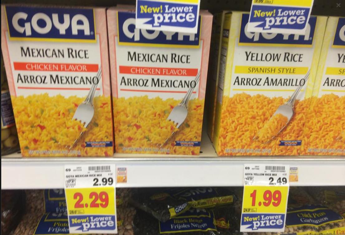 Goya Rice Mix