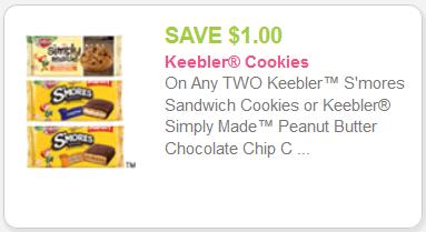 new Keebler smores Coupon