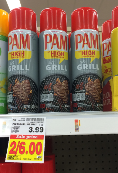 how to use pam grilling spray
