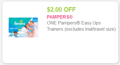 Pampers Easy Up Coupons