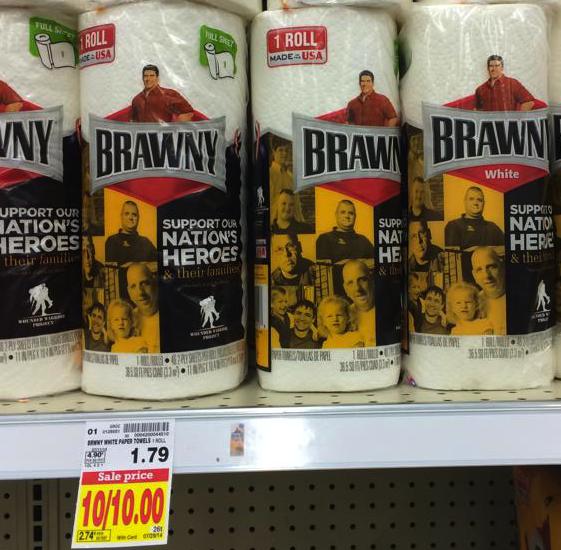 FREE Brawny Paper Towels at Kroger