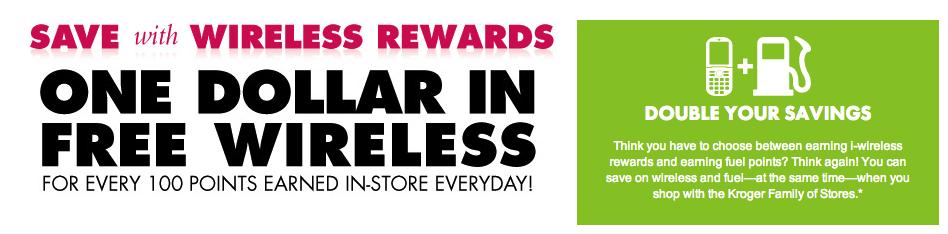 Kroger i-wireless Wireless Rewards