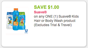 suave kids coupon