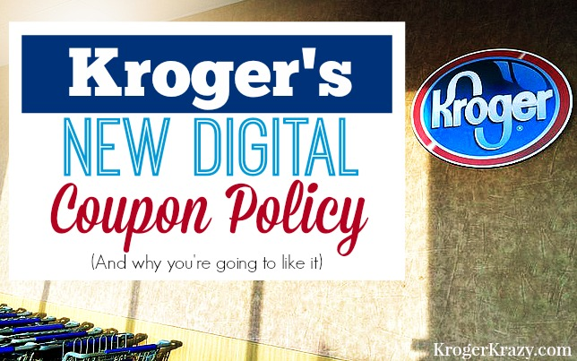 kroger digital coupon policy