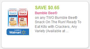 Bumble Bee Coupon