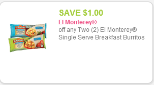 El Monterey Burrito Coupon