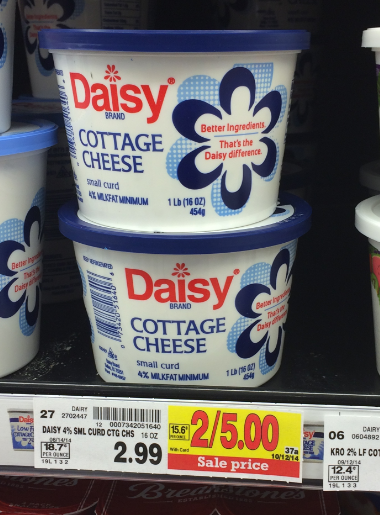 Daisy Cottage Cheese Coupons Kroger Sale Kroger Krazy