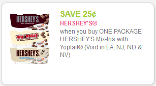 Hershey Mix-ins coupons