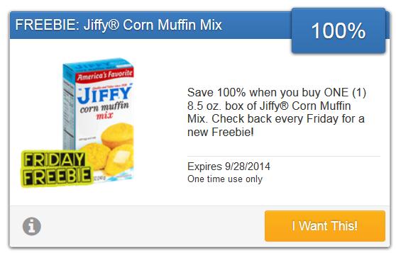 FREE Jiffy Corn Muffin Mix