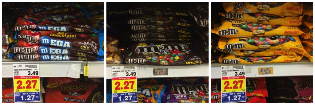4 FREE Bags of M&M's at Kroger
