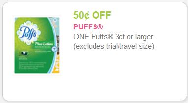 Puffs coupon