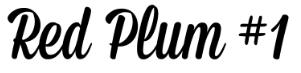 Red Plum #1