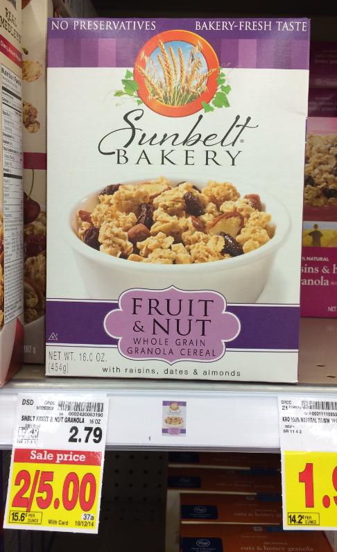 Sunbelt cereal