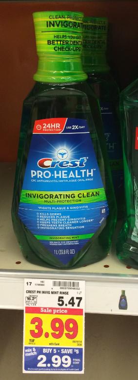 crest mouthwash