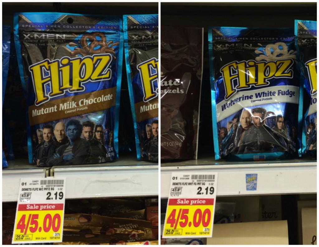 Flipz Chocolate Covered Pretzels Kroger