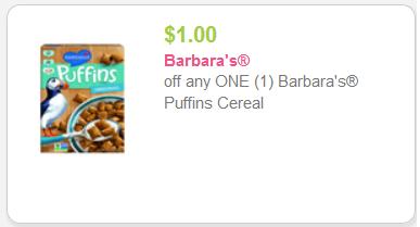 Barbaras Puffins coupon