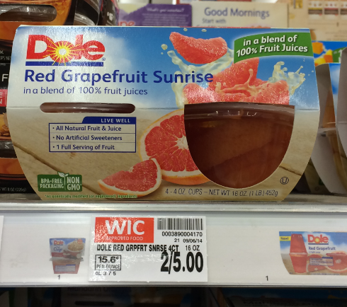 Dole manufacturer coupons