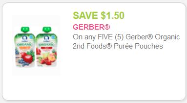 Gerber Organic coupon