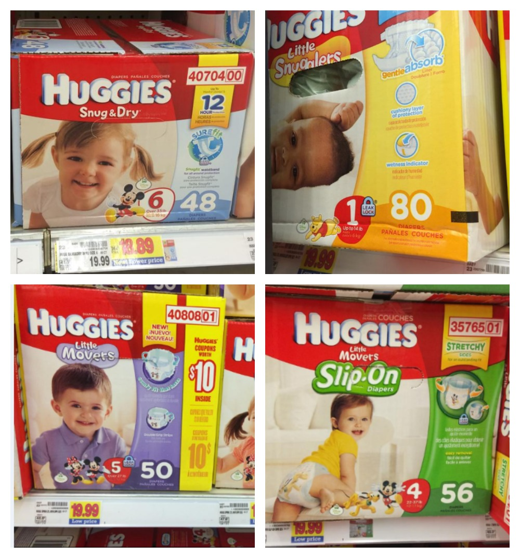 Huggies Boxes