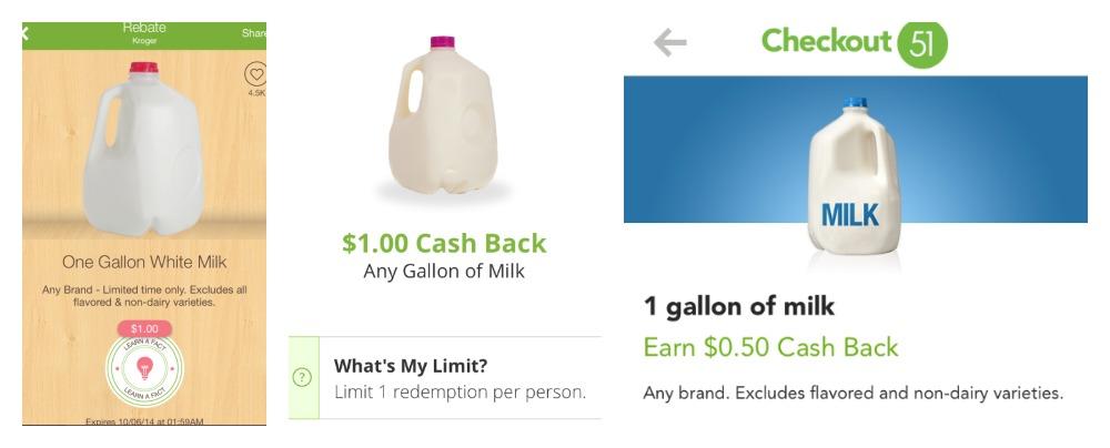 Milk Rebates