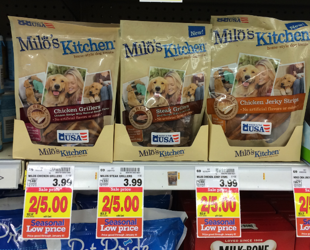 Milo\'s Kitchen Dog Treats ONLY $1.25 at Kroger (Reg $3.99 ...