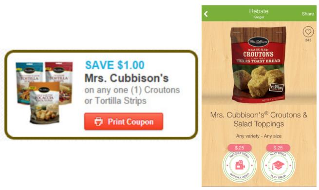 Mrs Cubbison coupon