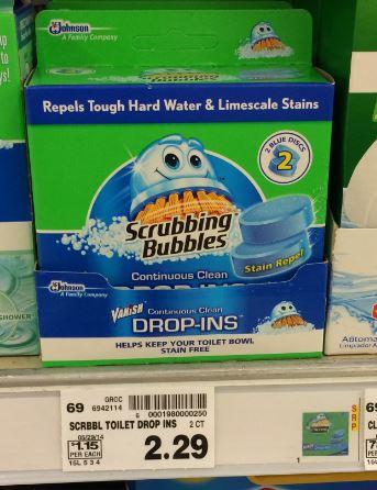 Scrubbing Bubbles Drop Ins