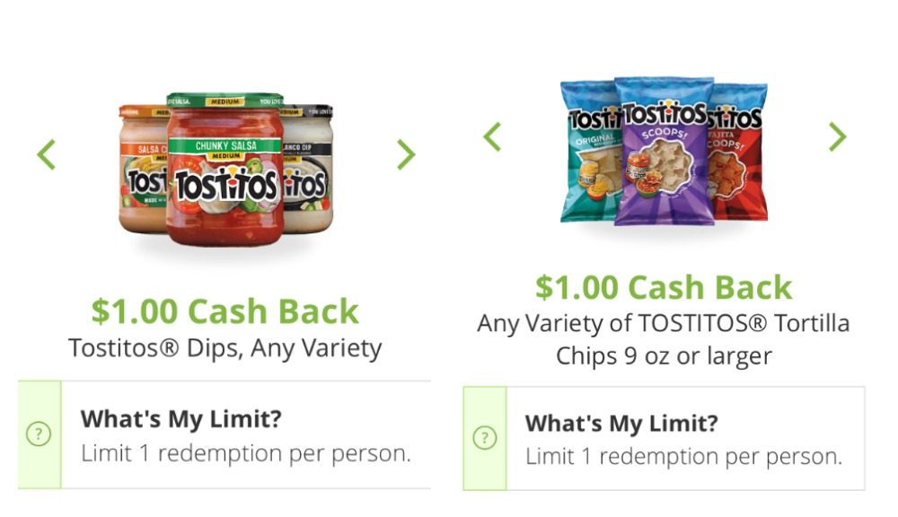 Tostitos Snap Offers