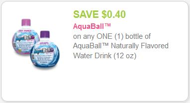 aquaball coupon