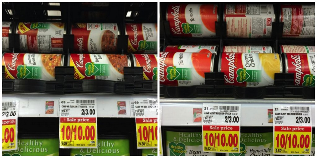 Campbell's Healthy Request Soup Coupon