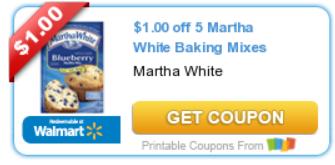 martha white coupon