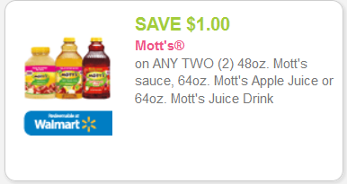 Mott's Apple Juice, as LOW as $0.50 at King Soopers!