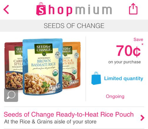 shopmium seeds of change