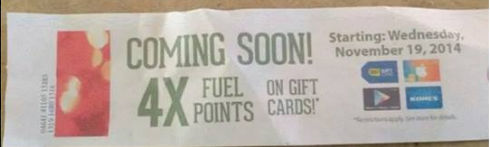 4x fuel points