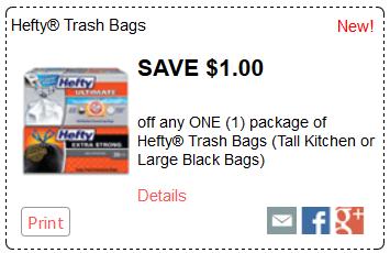 Hefty Trash Bags 28 45 Ct 6 99 Thru